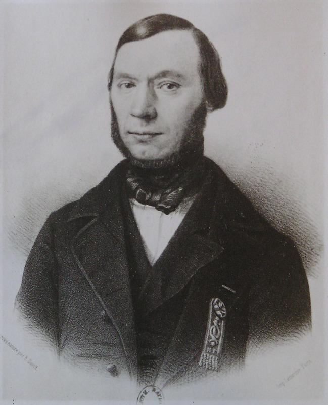 Portrait de Chazallon issue de la galerie des représentants du peuple (1848). (source : bnf)