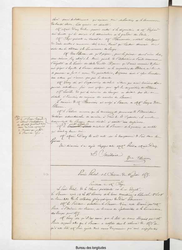 Procès-verbal de la séance du 9 juin 1875