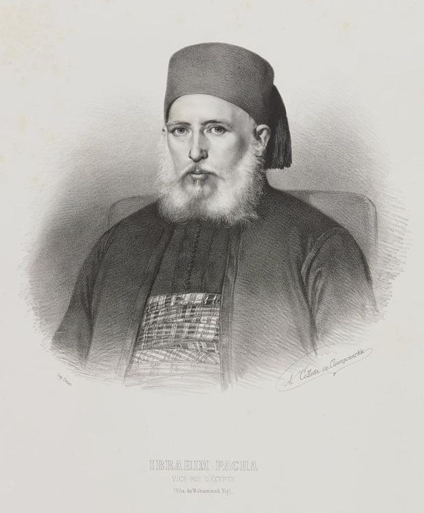 Portrait d'Ibrahim Pacha