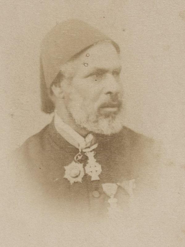 Portrait de Mahmoud Pacha el-Falaki