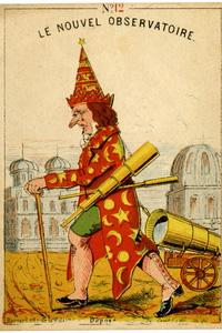 Caricature Urbain Le Verrier